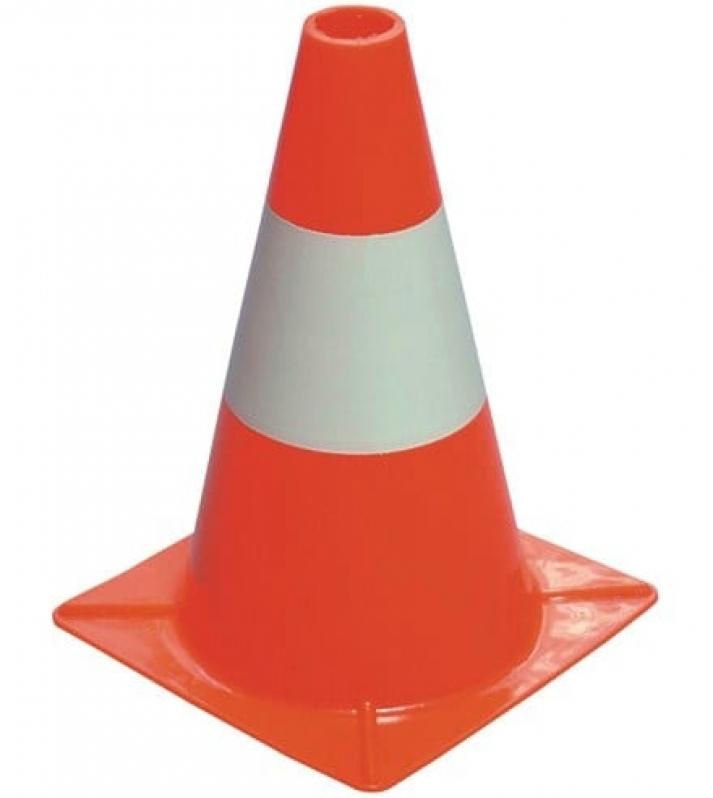Cone para Trânsito Preços Salto - Cone de Trânsito