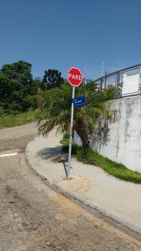 Cotação de Placas de Sinalização de Vias Urbanas Rodovia Atibaia - Placas de Sinalização de Obras em Rodovia