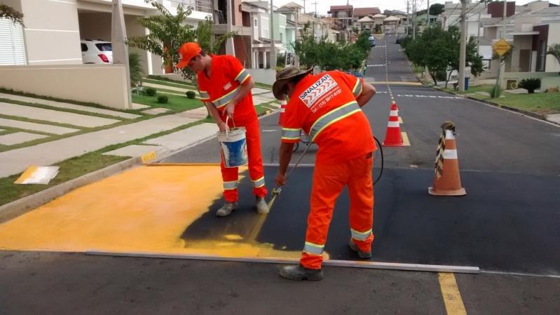 Empresa de Pintura Sinalização de Trânsito Jaguariúna - Pintura de Sinalização
