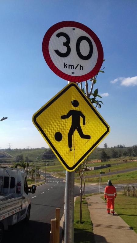 Placa de Sinalização de Vias Urbanas Rodovia Vila Élvio - Placas de Sinalização de Rodovias Que Indicam Velocidade