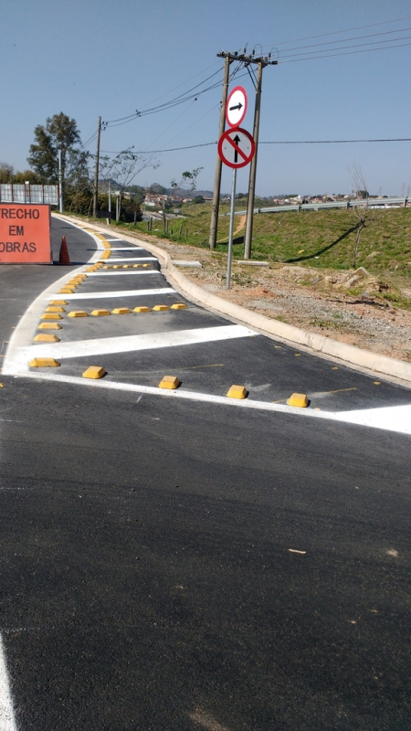 Placas de Sinalização de Obras em Rodovia Além Ponte - Placas de Sinalização de Rodovia