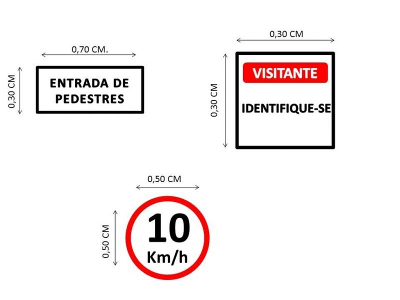 Placas de Sinalização de Rodovias Que Indicam Velocidade Boituva - Placas de Sinalização de Vias Urbanas Rodovia