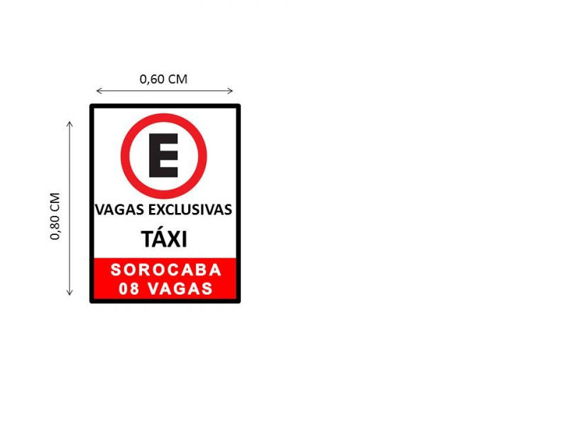 Preço de Sinalização Vertical Código da Estrada Centro - Sinalização Vertical de Indicação