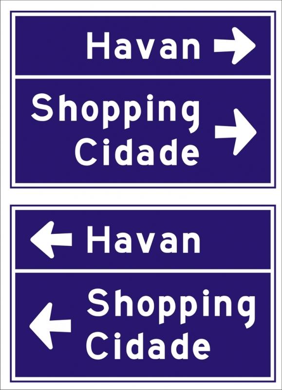 Sinalização Viária para Shopping Preço Itupeva - Sinalização Viária para Shopping