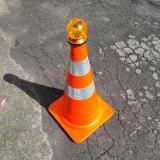 cone de trânsito Paulínia