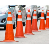 cone sinalização de trânsito preços Atibaia
