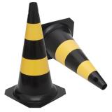 cone de trânsito para festa
