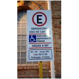 cotação de sinalização vertical de trânsito Jardim Europa