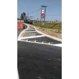 empresa de pintura sinalização horizontal Jardim Santa Rosa