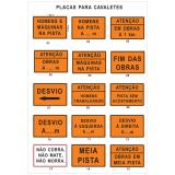 empresa de sinalização temporária de obras Parque das Paineiras