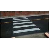 empresas que fazem sinalização horizontal com linhas tracejadas amarelas Jardim Santa Rosa