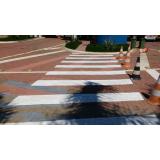empresas que fazem sinalização horizontal de cor vermelha Jardim Guadalajara