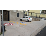 onde comprar sinalização horizontal para deficientes físicos Jardim Vera Cruz