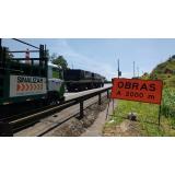 orçamento de placas de sinalização de obras em rodovia Vila Casa Nova