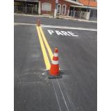 orçamento de placas sinalização para rodovia Hortolândia