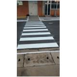 pintura sinalização de trânsito valor Além Ponte
