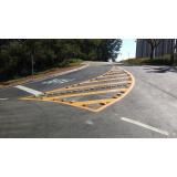 pintura sinalização horizontal preço Além Ponte