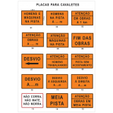 placa de sinalização de obras em rodovia Paulínia