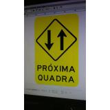 preço de sinalização de trânsito vertical Parque das Paineiras