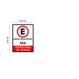 preço de sinalização vertical código da estrada Parque dos Eucaliptos