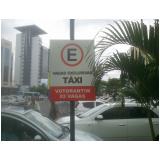 preço de sinalização vertical de trânsito Jardim Vera Cruz