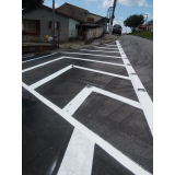 sinalização de obras de vias