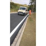 sinalização de obras em rodovias valor Atibaia