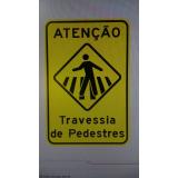 sinalização de trânsito vertical Sorocaba