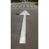 sinalização horizontal de trânsito