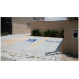 sinalização horizontal para deficientes físicos
