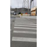 sinalização rodoviária horizontal Parque das Paineiras