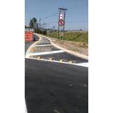 sinalização temporária de obras São Carlos