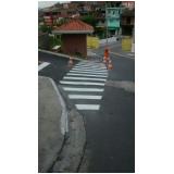 sinalização vertical de indicação Vila Casa Nova