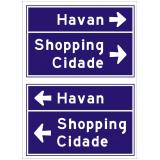 sinalização viária para shopping preço Limeira