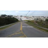 sinalizações verticais de indicação Vila Lucy