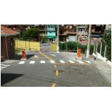 sinalizações viárias a base de água Vila Casa Nova